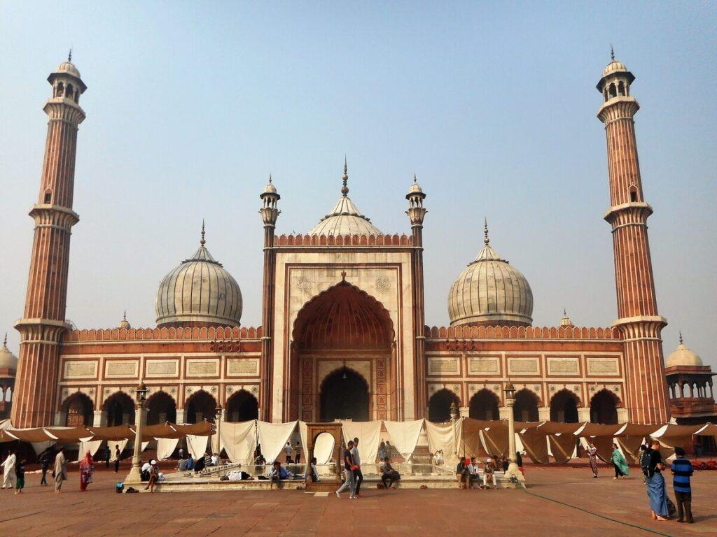 Jama Masjid Mosque - Old Delhi